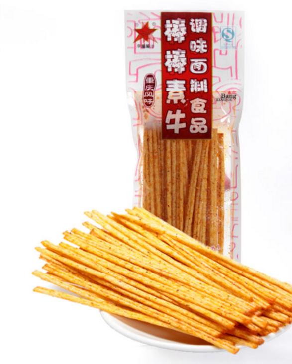重庆风味-棒棒素牛-辣条 - 26g - La Tiao